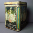 Beautiful large old collection biscuit box