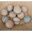 Rare jeu de pétanque - boules lyonnaises XIXème