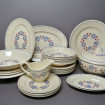 "Plate and dish service BADONVILLER ""Bagatelle"""
