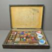 Rare boite d'aquarelliste fin XIXème