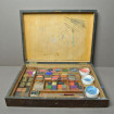 Rare watercolorist's box at the end of the 19th century