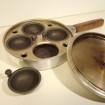 Casserole Vintage à système pour oeufs pochés