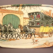 """Funny Vintage tray """"Diligence"""""""