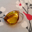 Funny pair of VINTAGE folding glasses with yellow lenses