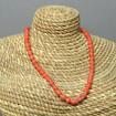 Ancien petit collier d'enfant en perles de corail