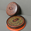 6 Boxed JAPAN lacquered wooden coasters