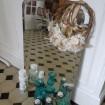 Grand miroir en arcade & biseauté sans cadre