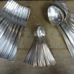 Cutlery set FRIONNET silver plated metal for 12