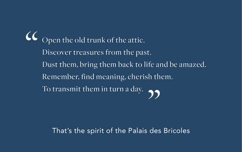 Spirit palais des bricoles